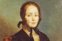 Предполагаемый портрет Анны Керн. А. Арефов-Багаев. 1840-е гг.
