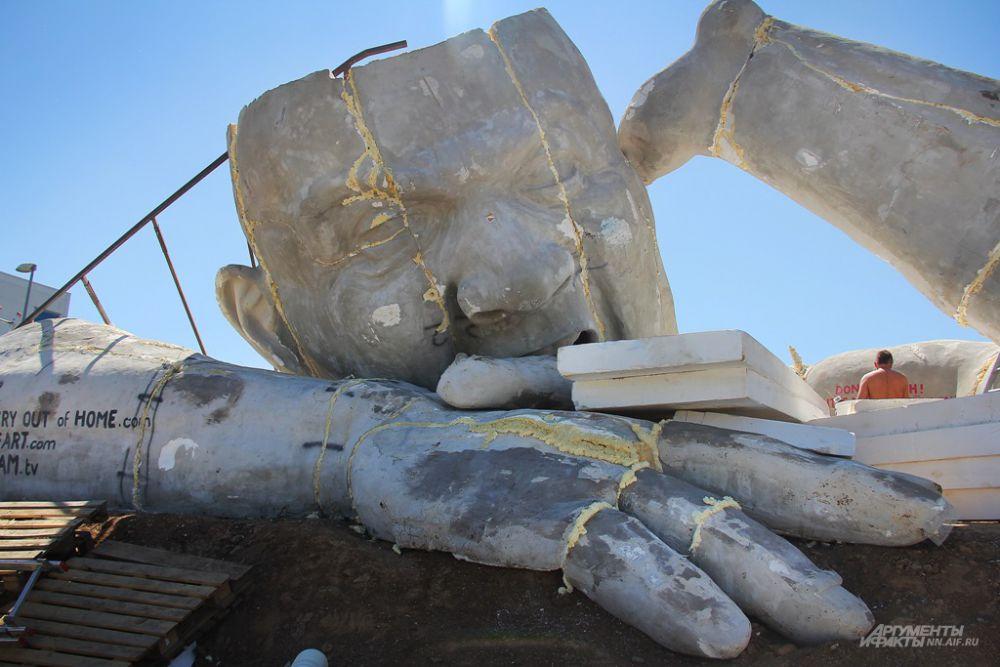 Скульптура станет подарком нижегородцам от венгерского правительства