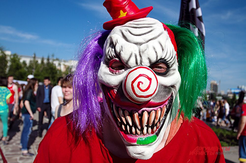 Злобный клоун.