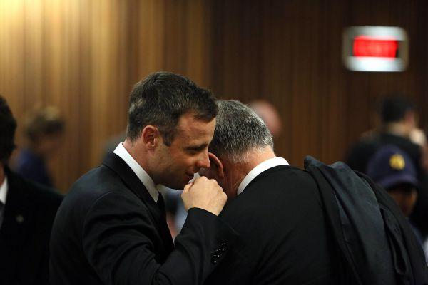 Суд над Писториусом тянулся дольше года. Сам приговор занял более ста печатных страниц и зачитывался двое суток. В первый день заключительных слушаний судья Токолизе Масипа объявила, что не признаёт Писториуса виновнымв предумышленном убийстве Ривы Стенкамп, так как обвинение не смогло безоговорочно доказать, что спортсмен умышленно стрелял в собственную невесту. В итоге спортсмен был приговорен к пяти годам тюрьмы за Стинкамп и к трем годам за нарушение закона об оружии с отсрочкой приговора на пять лет. Оба приговора вступили в силу 21 октября прошлого года.