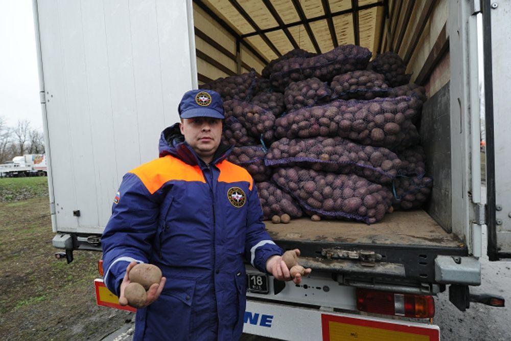 «В гуманитарной помощи (на востоке Украины) нуждаются более 5 млн человек», - отметил Ларке.