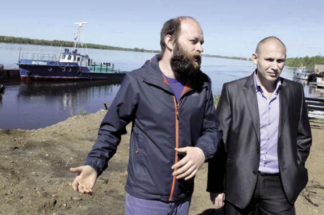 Алексей Сергеев и Алексей Щукин - двое из троих смельчаков.