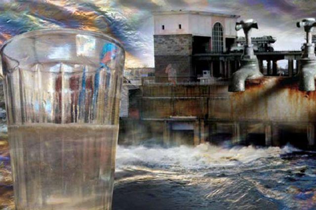 На прошлой неделе в 20 домах краснокамцев потекла из кранов зловонная грязная вода.