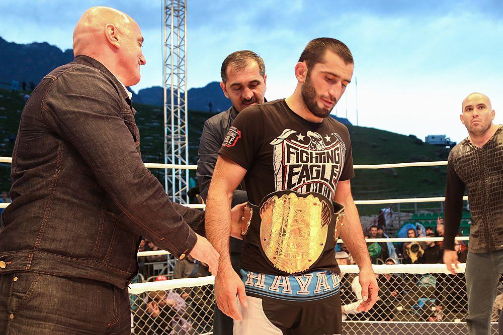 Победитель битвы Мурад Абдулаев