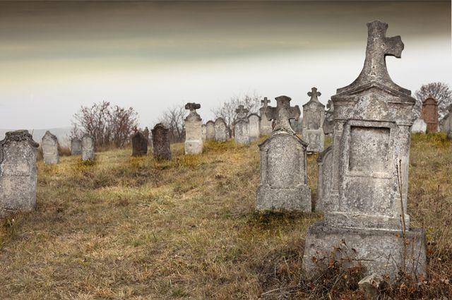 В Перми на Северном кладбище