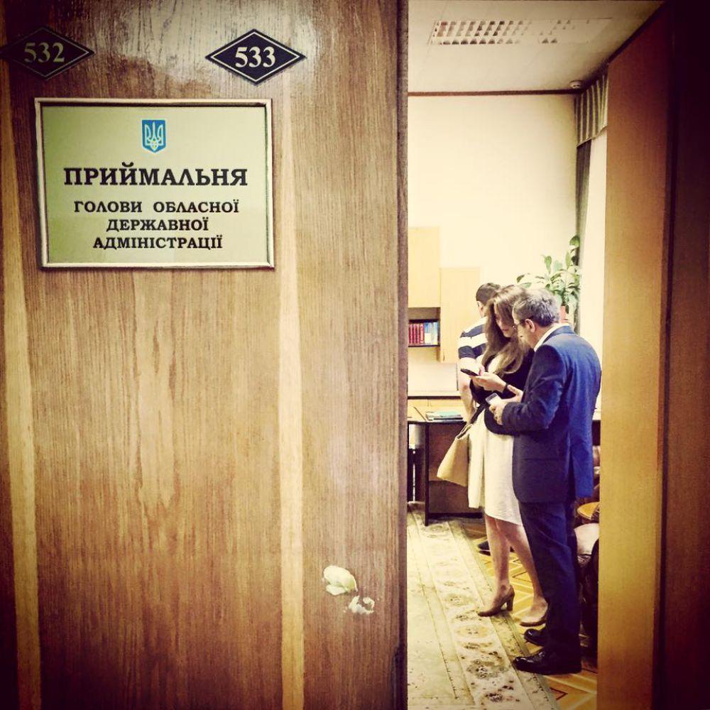 Приемная Михаила Саакашвили