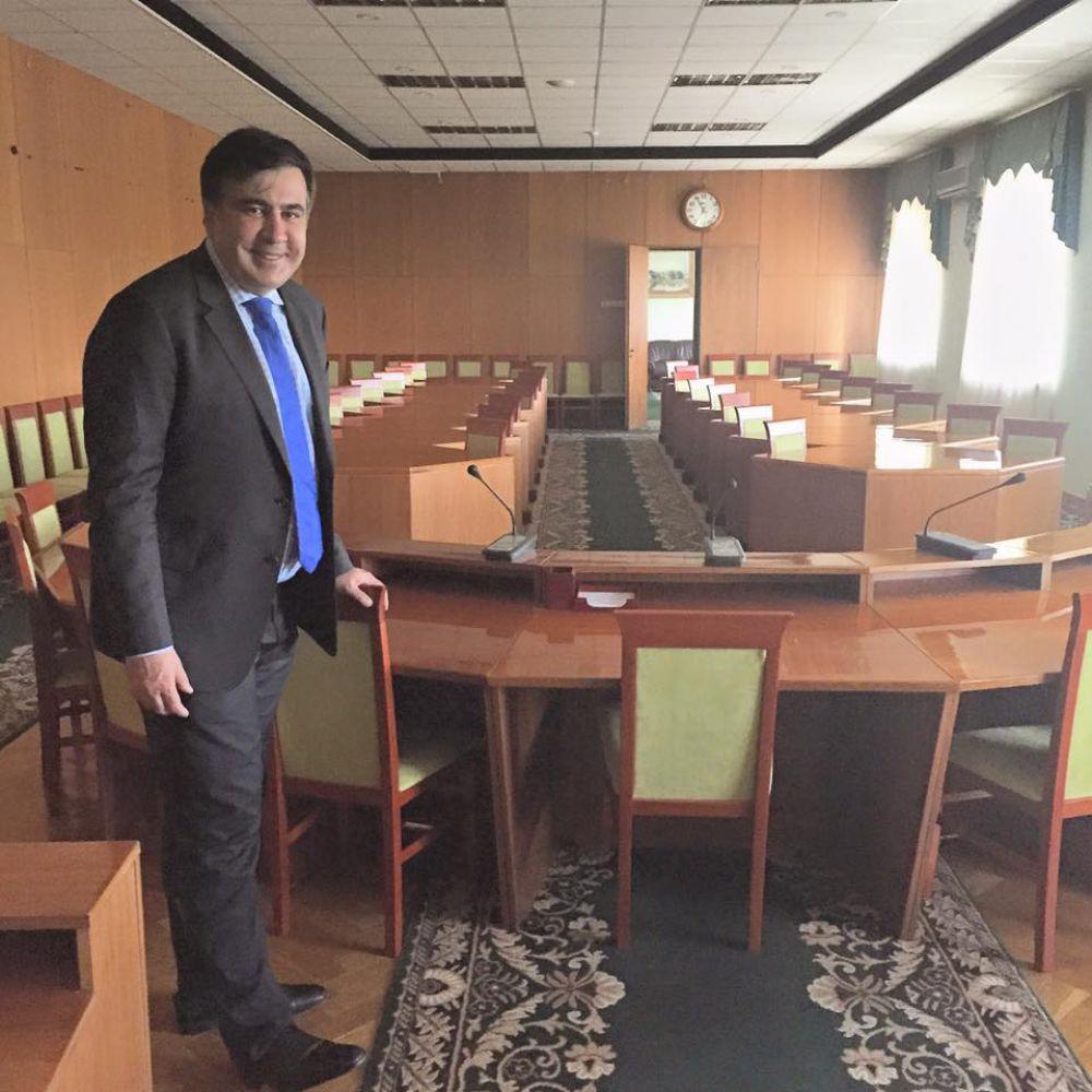 Как Михаил Саакашвили устроился в Одессе