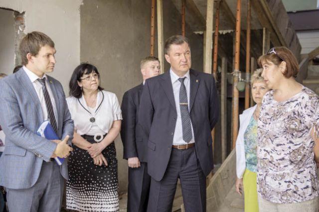 Олег Третьяков поручил властям Куеды взять на особый контроль срок сдачи детского сада №5.