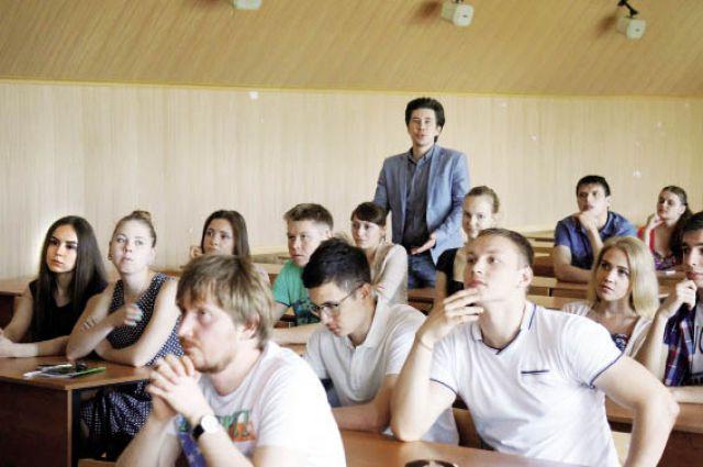 Пермским студентам рассказали о проекте