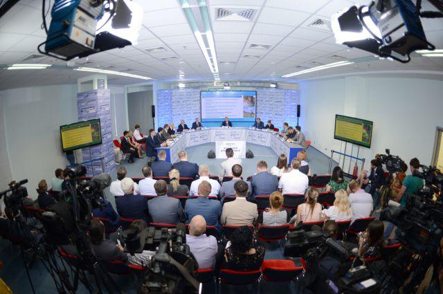Заседание Оппозиционного правительства