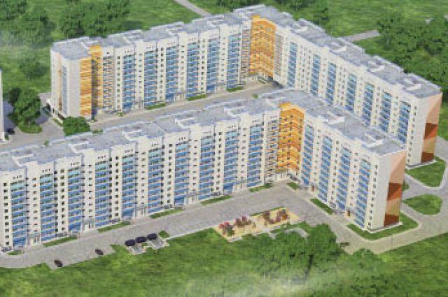 В доме по ул. Целинной, 55, можно купить квартиру по акции.