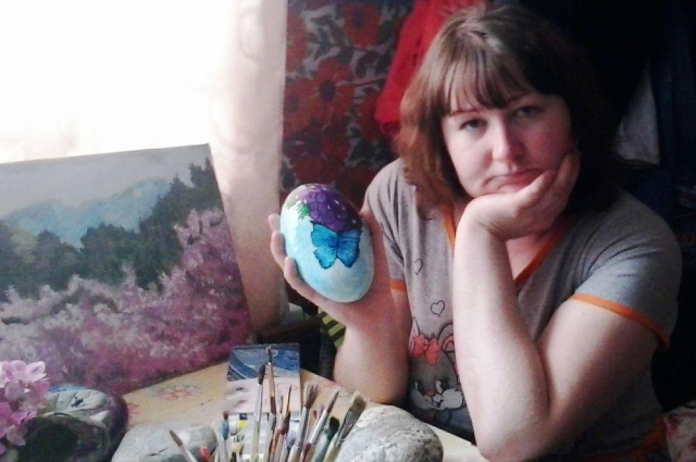Ирина Пивоварова - учитель обществознания и очень талантливый художник!