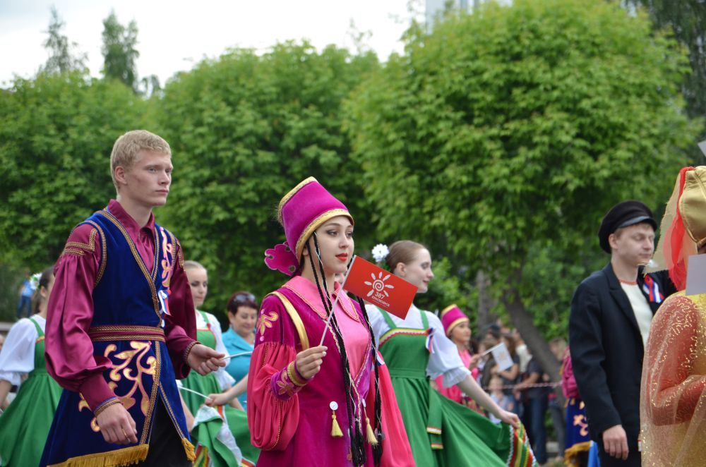 Национальный татарский костюм