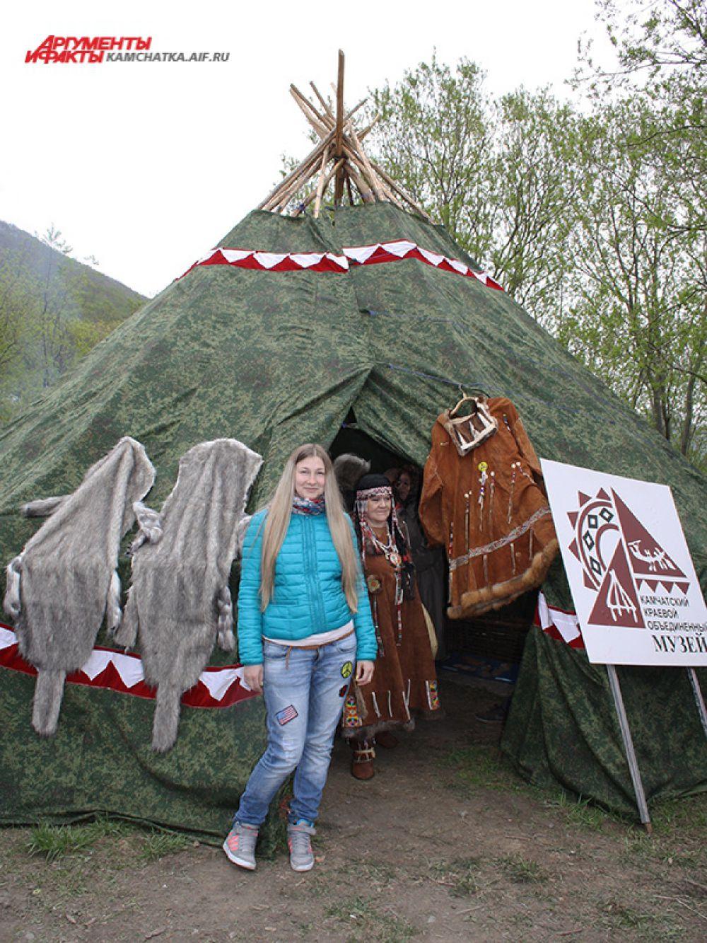 Была организована работа музейной выставки «Орудия лова камчатских аборигенов».