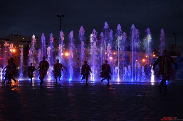 светомузыкального фонтана