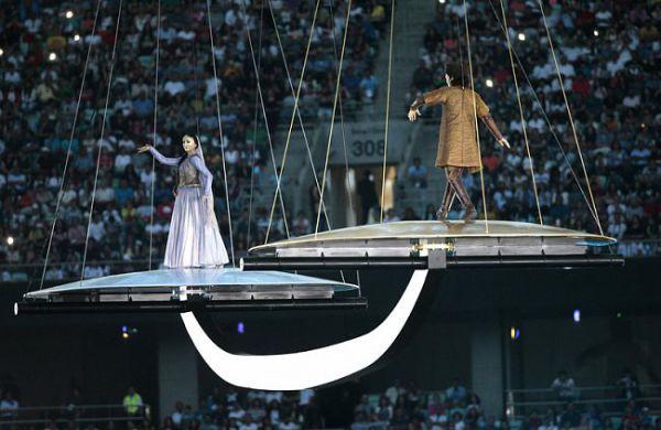 Церемония открытия Европейских игр