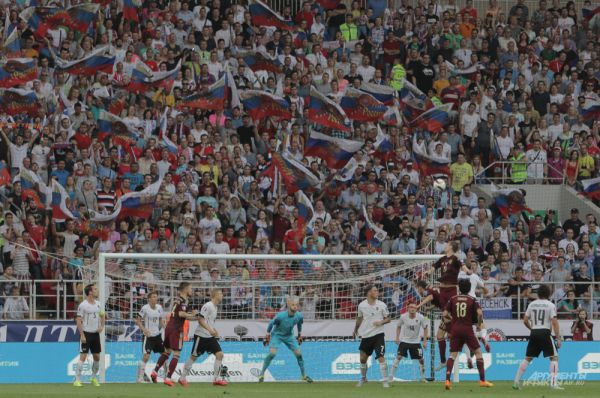 Атака сборной России