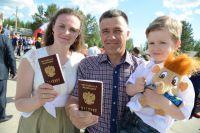 Семья Юрченко, приехавшая в Югру из Донецкой области.