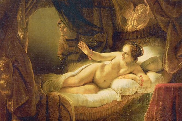 Картина Рембрандта «Даная»