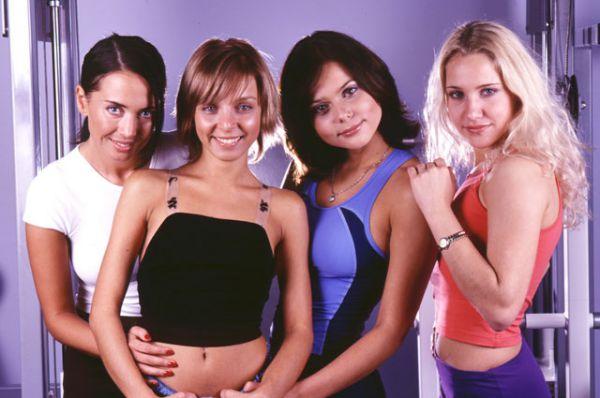 С 1996 по 2003 год Жанна Фриске выступала в составе группы «Блестящие».