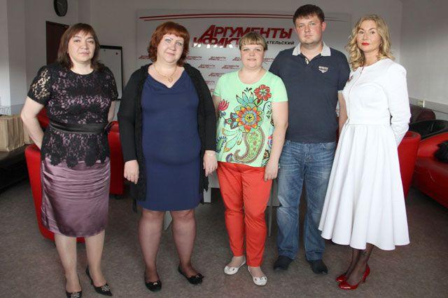 Участники проекта «Худеем вместе».