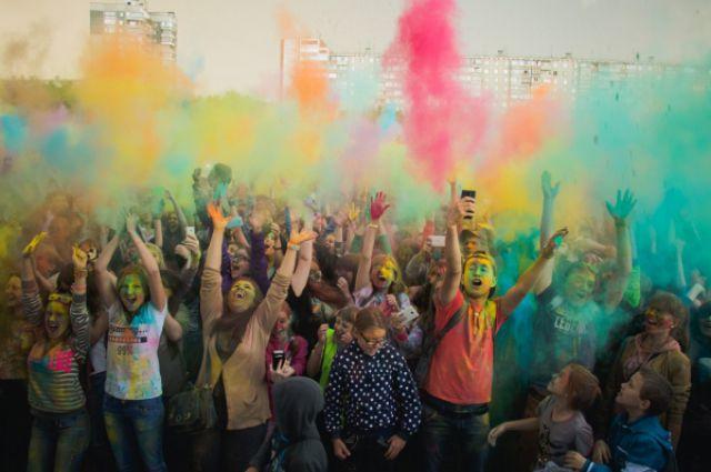 фото предоставлено организаторами фестиваля красок ХОЛИ