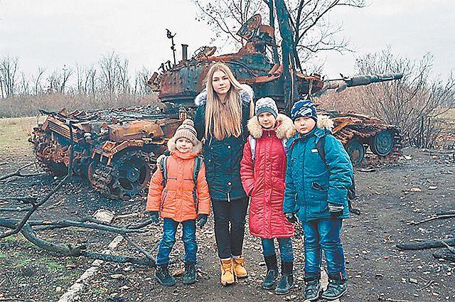 Ради детей Донбасса Марьяне пришлось увидеть ужасы войны.