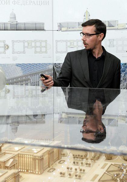 Руководитель архитектурной мастерской «Евгений Герасимов и партнеры» Иван Минниев.