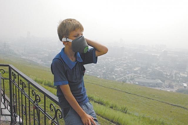Смог задержится в Екатеринбурге до конца недели