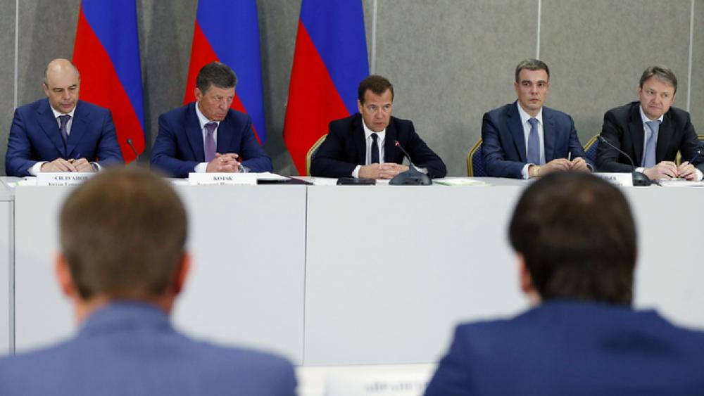 Совещание о развитии малого предпринимательства в Крыму.