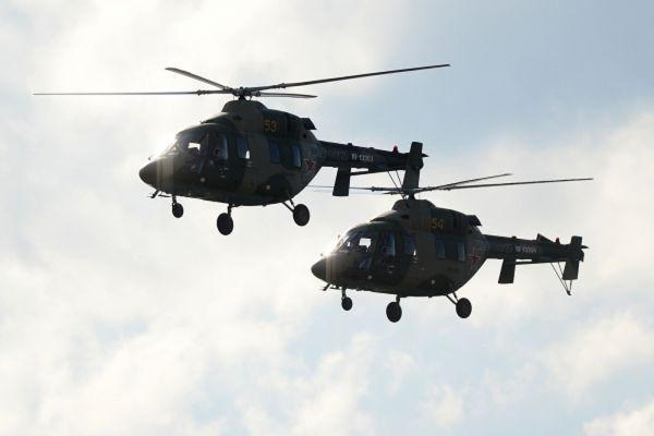 Учебно-тренировочные вертолеты «Ансат-У».