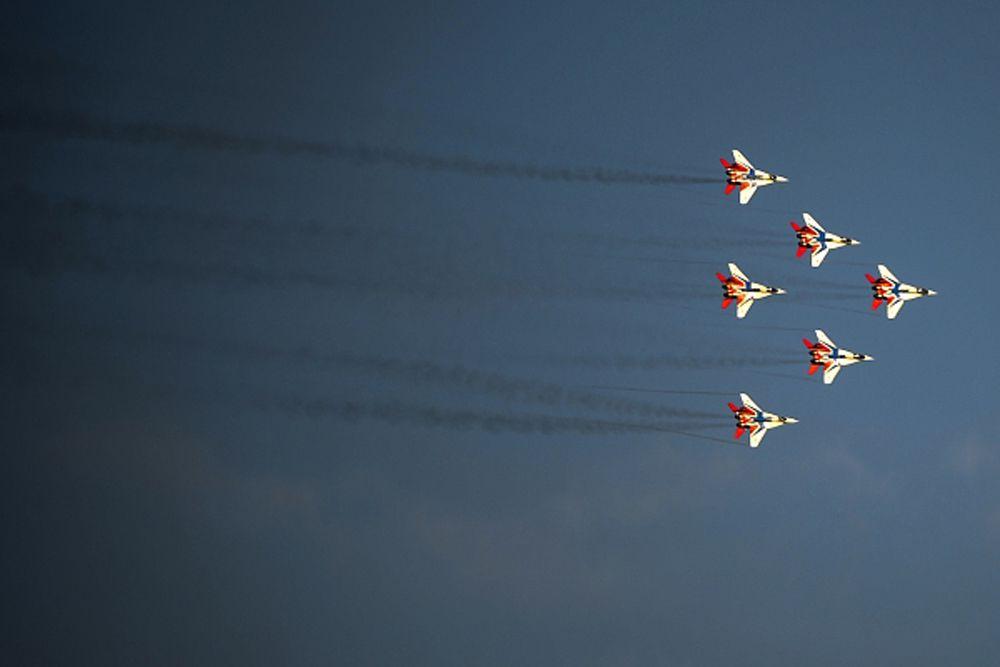 Самолеты МиГ-29.