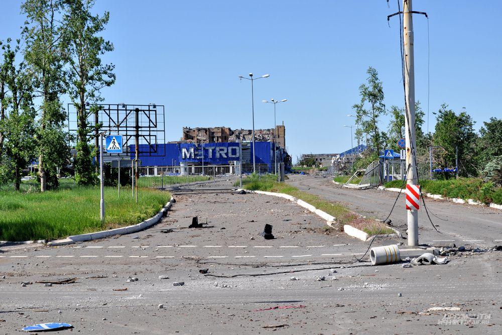 Октябрьский и Киевский районы - наиболее пострадавшие.