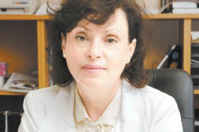 Елена Голухова.