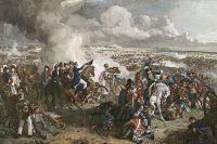 Битва при Ватерлоо. Фрагмент картины Робинсона.
