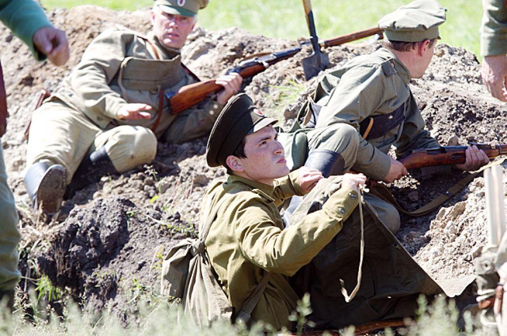 Победителями в этой битве стали русские.