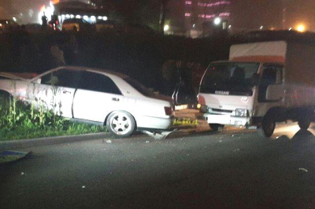 Toyota Crown, сбившая солиста Мариинки.