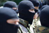 Подразделение МВД Украины.
