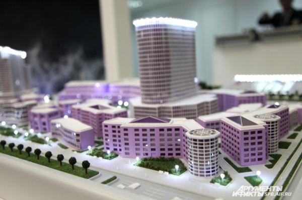 Проект предполагает возведение двух башен – бизнес-центров с гостиницами высотой 25 этажей.