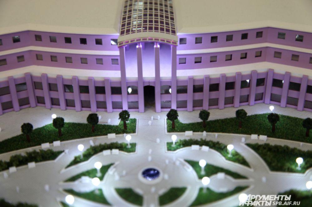 Проектом предусматривается строительство выставочного центра, зданий для размещения офисов, торговых павильонов и ресторанов, спортивного комплекса.