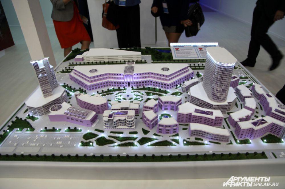 Проект строительства в Красносельским районе конгрессно-выставочного центра «Дружба».