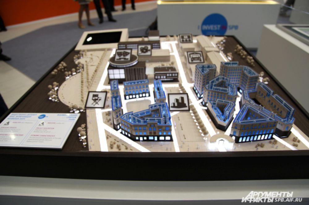 Новая площадка «Ленфильма» станет местом сосредоточения производственных мощностей.