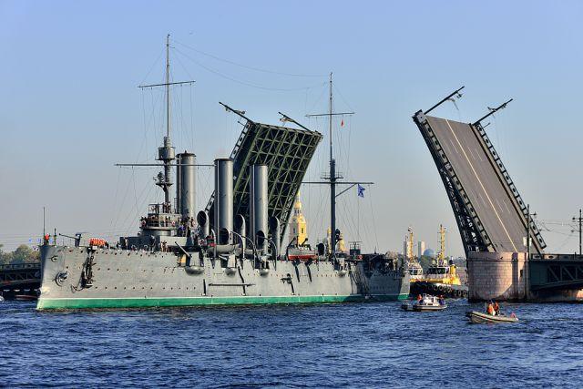Крейсер «Аврора».