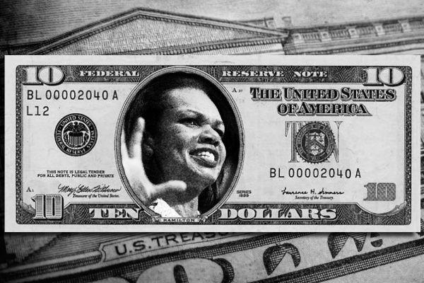 66-й Государственный секретарь США Кондолиза Райс  — первая афроамериканка и вторая женщина, после Мадлен Олбрайт, на этом посту. Она с честью сражалась за распространение демократии. Особенно преуспела в этом в Афганистане и Ираке.