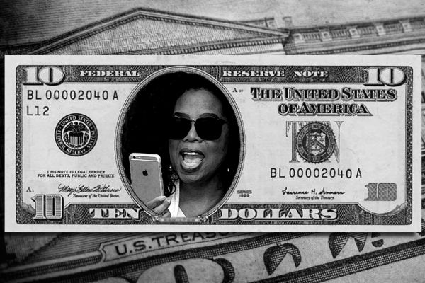 Почему мы выбрали Опру Уинфри? Просто ее так обожают американцы, что журнал Forbes назвал её девятой по влиятельности женщиной в 2005 году и первой — в 2007 году, самым влиятельным человеком в шоу-бизнесе в 2009 году, самой влиятельной знаменитостью в 2010 и 2013 году.