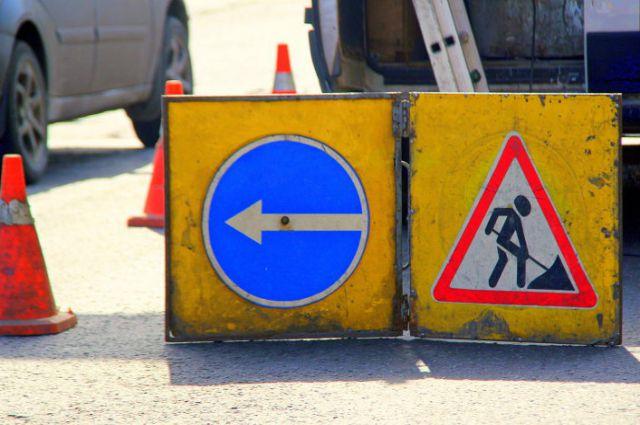 На Компрессорном на 40 дней закрывается дорога