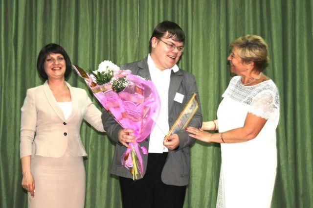 Андрей Павлютенко стал лучшим в номинации «Поддержка творческой и талантливой молодежи».