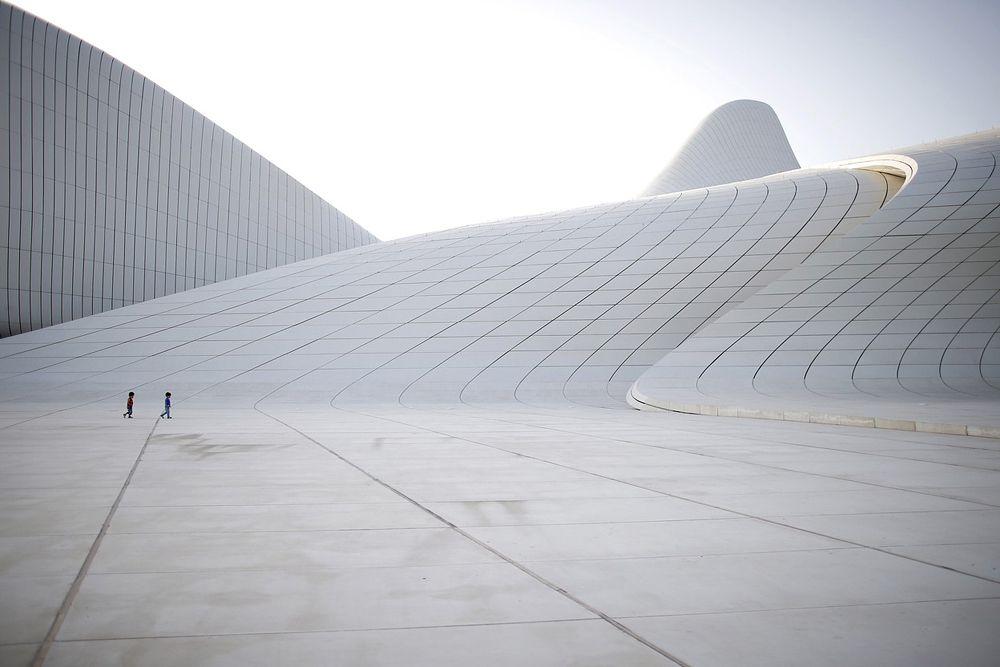 15 июня. Культурный центр имени Гейдара Алиева в Баку.