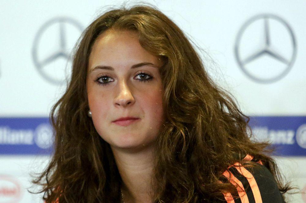 Сара Дебриц из сборной Германии.