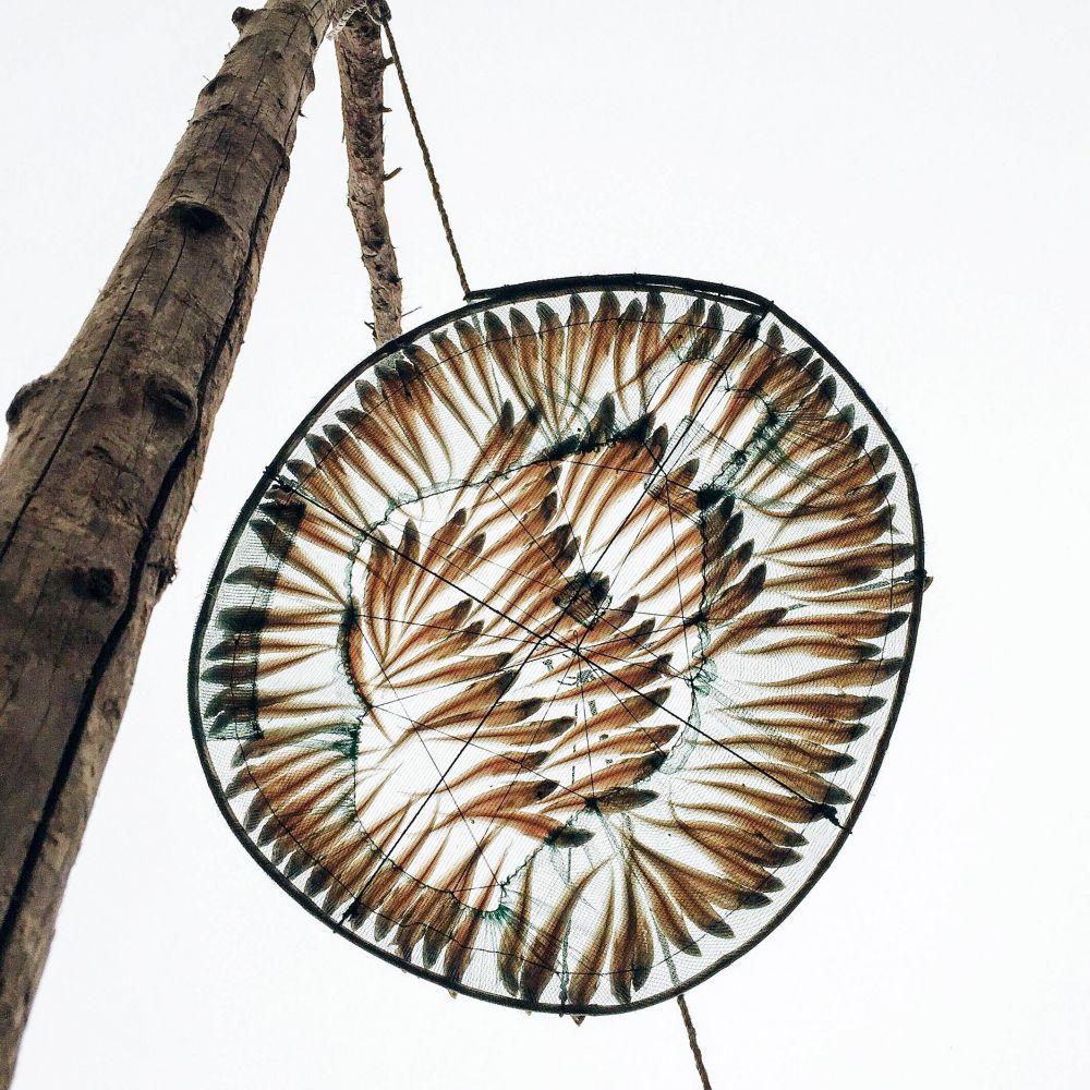 1-е место в номинации «Еда» у Сюй Лин из Китая. На реке Янцзы в Китае люди сушат пойманную рыбу, сразу превращая ее в готовое блюдо. Одна из таких экзотических съедобных инсталляций и запечатлена автором этого фото.